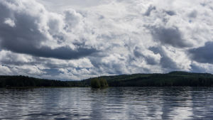 Pilvinen päivä Päijänteellä