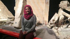 Den syriska arkitekten och författaren Marwa al-Sabouni