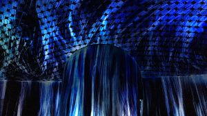 TeamLab: Vortex of Light Particles (Virvel av ljuspartiklar)