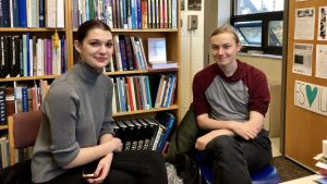 Studenter på Finnish Studies-enheten vid Torontos universitet.