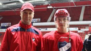 Jan Lundell och Anton Lundell.