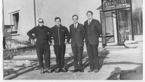 Valtiovierailu Saimaan kanavalle 17.10.1969