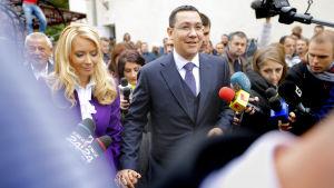 Den rumänske presidentkandidaten Victor Ponta.