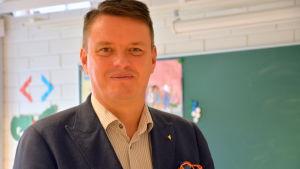 Bernt Klockars är rektor vid Vasa övningsskola.