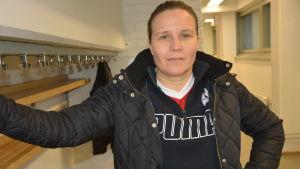 Marja Salmivuori, regionchef för servicefacket PAM i Österbotten