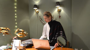 Företagaren Nora Hellberg.