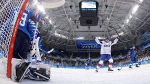 Sydkorea kämpade så gott de kunde mot Finland.