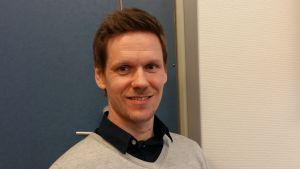 Santtu Peltomaa är tf. rektor vid Kimpisen koulu i Villmanstrand.
