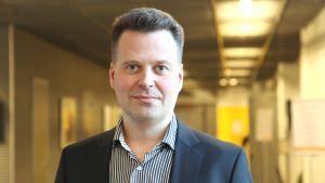 Petri Helo, professor i logistiska system vid Vasa universitet.