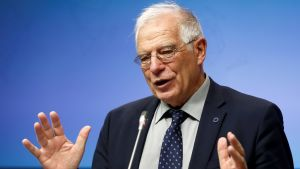 Spaniens utrikesminister Josep Borrell