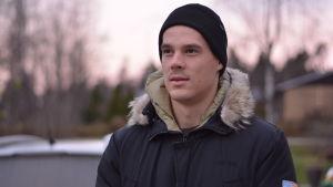Porträttbild på Nico Rönnberg.