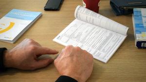 Exempel på arbetsavtal