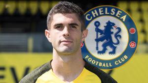 Christian Pulisic är klar för Chelsea.
