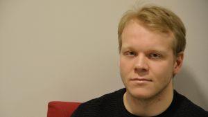 Bandyspelaren Rasmus Kettunen Borgå Akilles