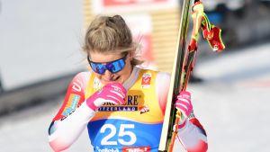 Mari Eide knep VM-brons i Seefeld.