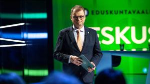 Juha Sipilä puoluejohtajien vaalitentissä Yle 20.03.2019