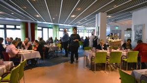 Undervisningsrestaurangen Silveria på Vamia.