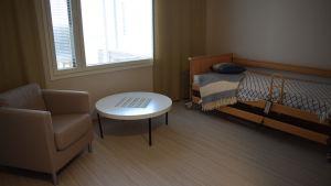 Ett rum i Attendo Pärla.