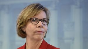 Justitieminister Anna-Maja Henriksson.