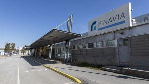 Kokkola-Pietarsaaren lentoaseman terminaali.