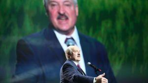 Aleksandr Lukasjenko  i Minsk 17.9.2020