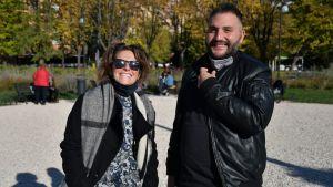 Flavia Vitali och Andrea Gatti organiserar olika fester och kulturevenemang för hbtq-personer i sin hemstad