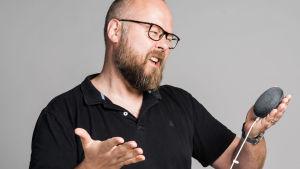 Mikael Hindsberg ja tilapäisiä kommunkointiongelmia :)