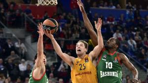 Basketspelaren Petteri Koponen