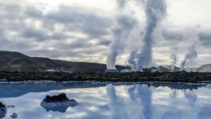 Geotermisk energi är en av grundbultarna i Islands ekonomi.