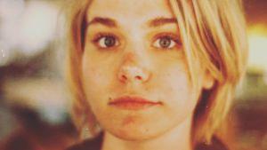 Eva Kela som ung.