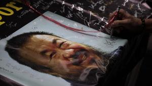 Den kinesiska konstnären och dissidenten Ai Wei-wei