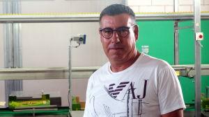 Mario Incardona är chef för Golden Green i Ragusa.