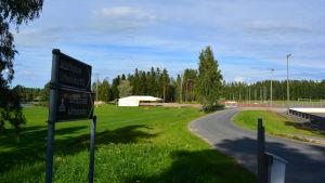 Bild från Idrottsplan i Nedervetil.