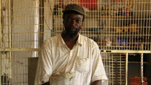 Chiso arbetar som jordbrukare