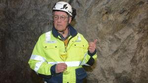Håkan Pihl är chefsgeolog på Nordkalk.