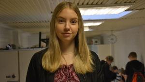 Anna Skoglund, åk 9 i Korsholms högstadium