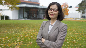 Selina Liang på Vasa universitet.