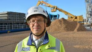 Tapani Bastman, verkställande direktör för Åbonejdens Energiproduktion.