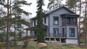 Nybyggt småhus i Sibbo