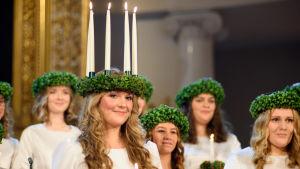 Elin Qvist, Finlands Lucia 2018.