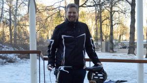Laurits Möller flyttade från Danmark till Finland för studiernas skull.