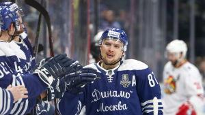 Vadim Schipachyov firar ett mål mot Jokerit.