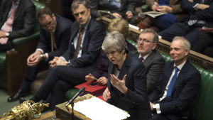 brittiska parlamentet