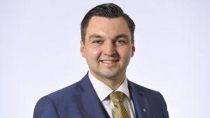 Kansanedustaja Joakim Strand, RKP.