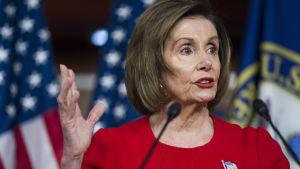 USA-representanthusets talman Nancy Pelosi