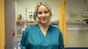 Sairaanhoitaja Anni Kaplas