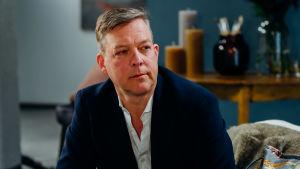 Riko Eklundh i intervjusoffa.