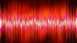 Röda ljudvågor, wave-ljud