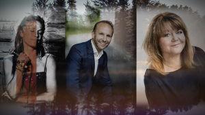 Erik-André Hvidsten, Cecilia Kyllinge och Heléne Nyberg