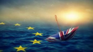 Storbriatnnien driver iväg från EU